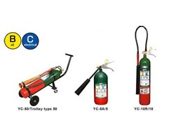 Jual YAMATO Carbon Dioxide An extinguisher that snuffs out any gas fire!