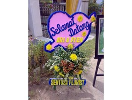 Jual Standing Flowers Welcome2