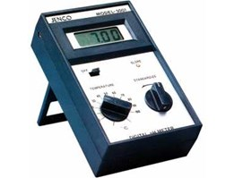JENCO 5001, pH handheld meter with build in tabletop stand and LCD digital display