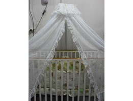 Jual Crib BOX bayi putih ( type 003BP)