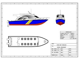 Jual SPEED BOAT V-10 METER
