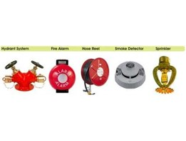 Hydrant System | Fire Alarm | Hose Reel | Smoke Detector | Sprinkler | Hose Box | Water Monitor | Fire Hose | Fire Man Axe | Fire Bucket | Helmet | Dust Mask & Hand Glove | Safety Shoes | Hydrant Accessorries | Hydrant Blank Cap & Washers