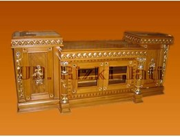 Jual Mebel Buffet TV Tambang | Buffet jati Furniture | Buffet antik jati