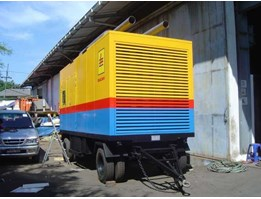 Jual Genset Silent on Trailer
