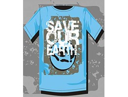 Jual Tshirt Save our earth