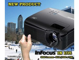 Jual PROJECTOR INFOCUS IN105
