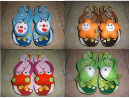 Jual Sandal Boneka New Era Flower