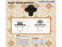 Jual Roof Drain Cast Iron( Type Kaneso)