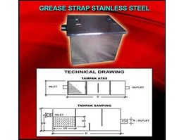 Grease Trap Stainless Steel dan Drum Trap Cast Iron