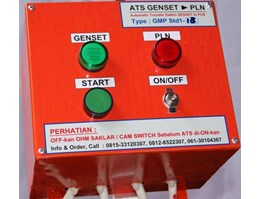 Jual Automatic Transfer Switch ( ATS), ATS Genset > PLN, Type GMP Stdx-xx, Panel Ekonomis