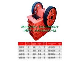 JAW CRUSHER, PE SERIES