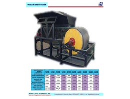 Jual Magnetic Separator Dry for Iron Ore