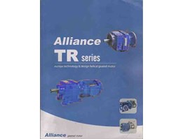 ALLIANCE HELICAL GEARED MOTOR