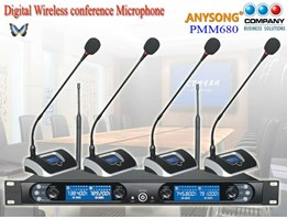 Jual Professional Wireless Conference Microphone( PMM680)