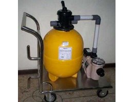 Jual Vacuum Portable for Fish Pond, Fountain and Pool Deck Cleaning