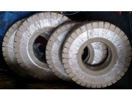 Jual BAN FORKLIFT, SOLID TYRE, PNEUMATIC TYRE, POLYURETHANE, RUBBER