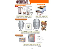 ELECTRIC DEEP FRYER, GAS TILTING KETTLE, GAS BARBEQUE & KEBAB GRILL