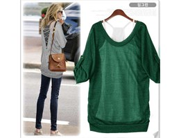 Jual GREEN BLOUSE 2 PCS
