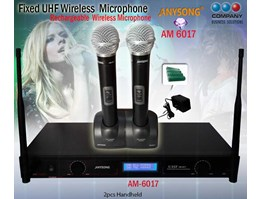 Jual Fixed UHF Wireless Microphone( AM 6017)