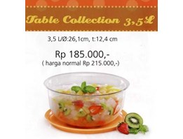 Jual TABLE COLLECTION = TUPPERWARE