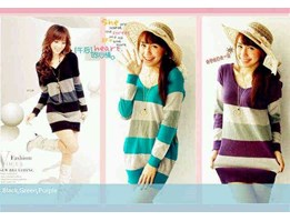 Jual Ready! ! ! Angel Stripe Knit de @ 41