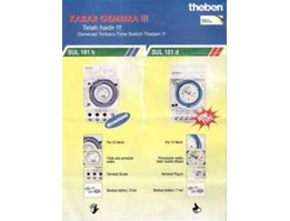 # TIMER SWITCH # THEBEN SUL 181 d ( Made in JERMAN)
