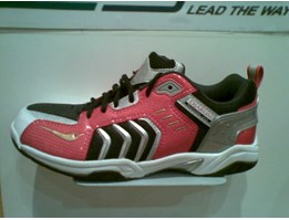 Sepatu Badminton Fly Power Tiguan Red/ Djarum Edition ( ORIGINAL )