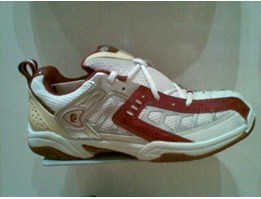 Sepatu Badminton Fly Power Boxter Maroon ( ORIGINAL )