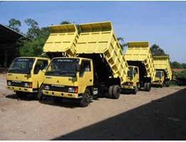 Dump Truck dan Dump Trailer Diamond