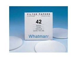 Jual FILTER PAPERS WHATMAN NO. 42 DIA. 90 MM