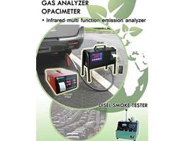 Jual Gas Analyzer for Diesel ( Opacity Smoke Meter) / Alat Uji Emisi Diesel