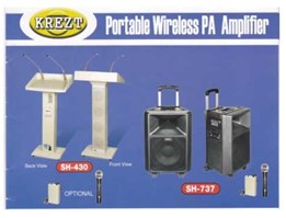 Portable Wireless PA Amplifier