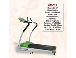 TREADMILL ELECTRIC 1 FUNGSI OTD-529 ( JUAL TREADMILL ELECTRIK)