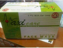 Jual MASKER DISPOSABLE 3 PLY MAXI CARE