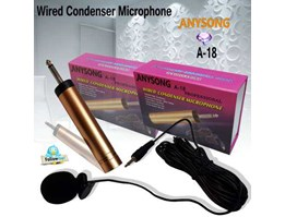 Jual Professional Wired Condenser Microphone A-18