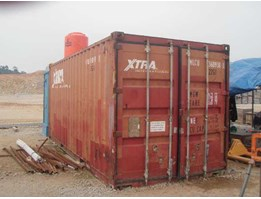 Jual 4 unit Container ( Dry Container 20 feet)
