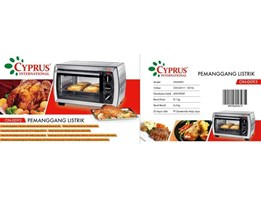 ON-0093 ( Cyprus Oven Stainles Listrik)
