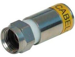 Jual F CONNECTOR RG-6 COMPRESSION