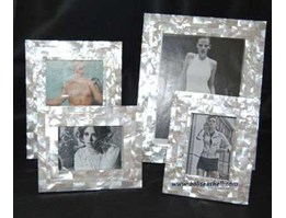 Jual photo frame from mother of pearl