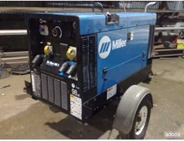 Jual rental miller welding engine