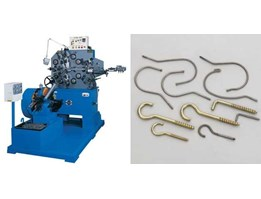 Automatic Wire Forming Machine ( Thread Rolling Machine )