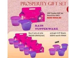 Jual TUPPERWARE PROSPERITY GIFT SET
