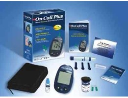Jual on call plus alat cek gula darah amerika