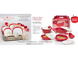 Jual Tupperware Solo  Cherry Red Collection