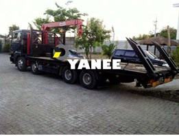 Jual For Rental/Service Self Loader Nissan With Crane 3 Ton