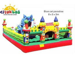 BLUE CAT 5x8x3 M  Ready Stock
