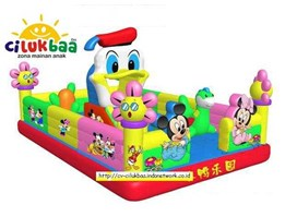 RumahBalon-IstanaBalon-BalonLoncat, LITTLE DUCK-Ukuran 4x6x3.2M  READY STOCK