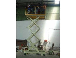 Jual Hydraulic Table Lifter - Scissor Table Lift - Table Lifter