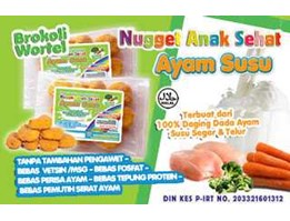 Nugget Ayam Susu - Brokoli Wortel