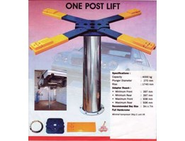 Jual Lift Hidrolik Cuci Mobil Single Post Lift